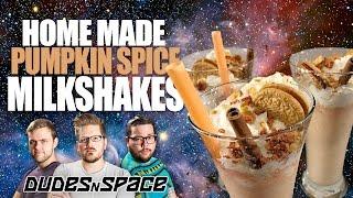 The BEST Milkshake EVER - Homemade Pumpkin Spice Oreo Milkshakes - Review - Dudes N Space