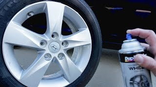 Video How To Spray Paint Wheels Like a PRO! download MP3, 3GP, MP4, WEBM, AVI, FLV Oktober 2018