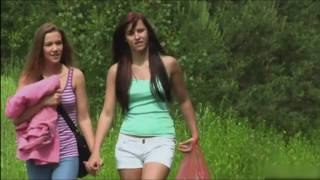 Alexis Crystal and Makayla Ross (Morgan Blanchette) picnic