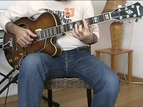Fly me to the moon (Fingerstyle jazz guitar)