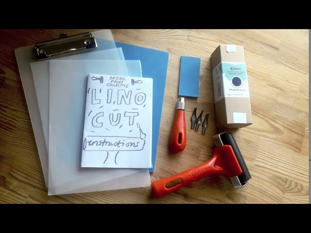 Lino Print Kit tutorial