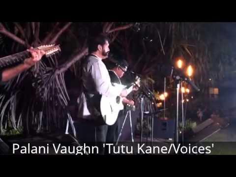 CAMERAPomai Brown Ipad footage of Palani Vaughn at Keauhou Concert 31514