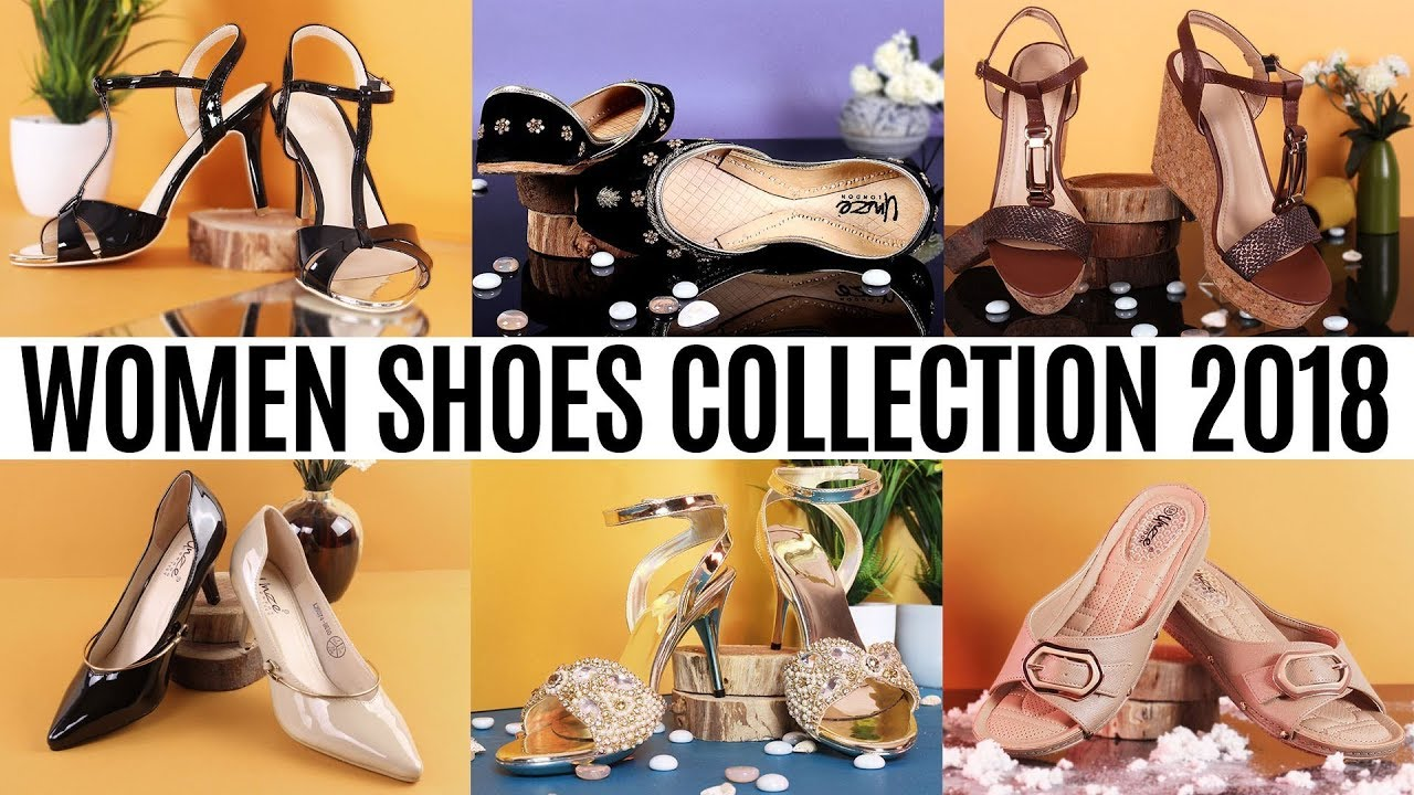 cc1f2bef6c91 Women shoes Collection 2018 By Unze London! - YouTube