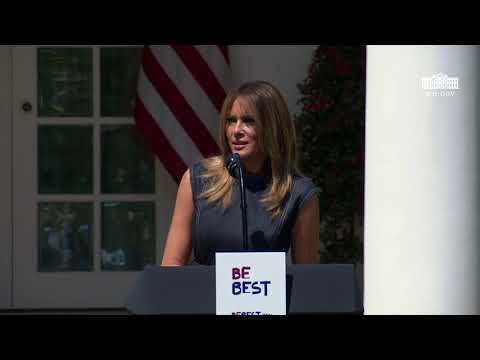First Lady Melania Trump's Be Best Anniversary Celebration