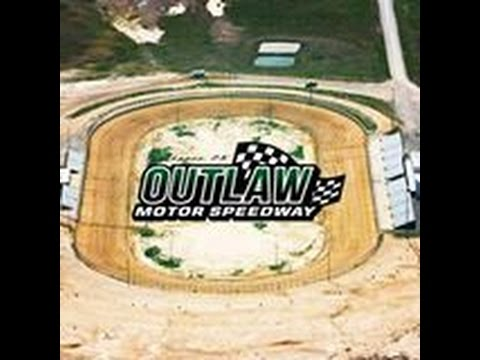 OUTLAW MOTOR SPEEDWAY PURE STOCK MAIN EVENT 8-26-16