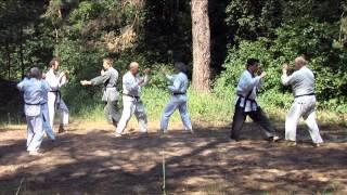 удары 34 й экзамен по каратэ группа ветеранов ч 6 харьков 2014 karate