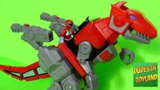 imaginext power rangers toys red ranger t rex zord dinozord mighty morphin dino charge
