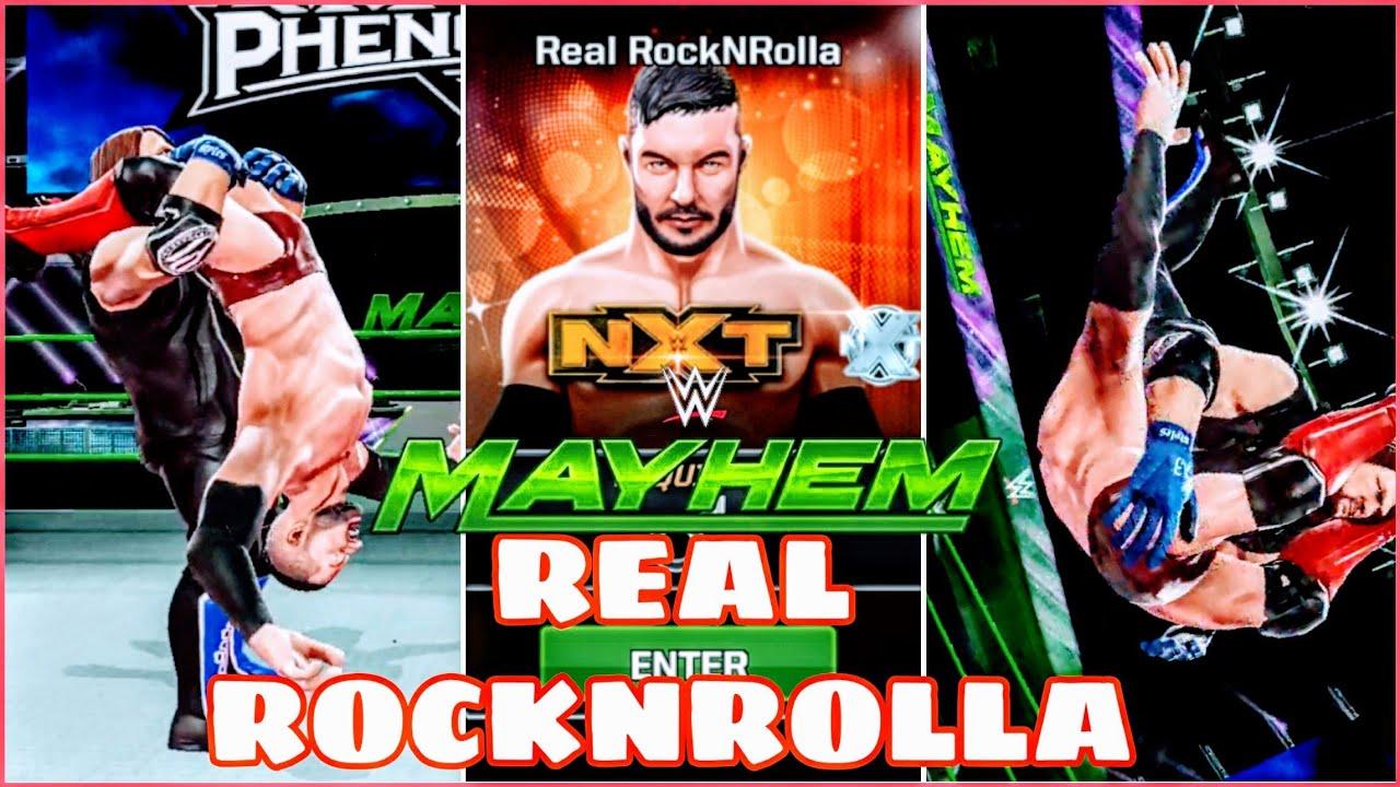 REAL ROCKNROLLA   WWE MAYHEM