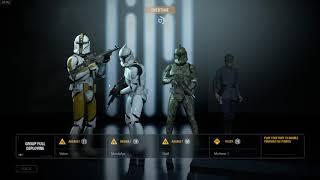 Star Wars  Battlefront II (2017) | veri cool fun game try new clone trooper skin 40 milliot credits!