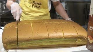 Fuwa Fuwa Jiggly Cake Cutting