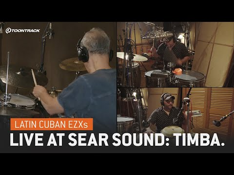 Latin Cuban EZXs – Live at Sear Sound: Salsa