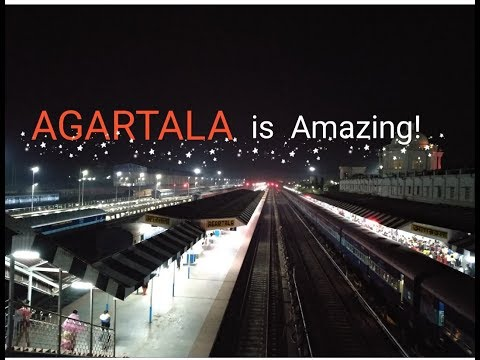 AGARTALA is Amazing!- (Agartala city timelapse 2018)_Tripura.