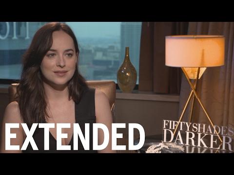 Dakota Johnson Says Mom Melanie Griffith Won't Watch 'Fifty Shades Darker' | EXTENDED