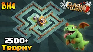 Builder Hall 4 Base / BH4 Builder Base / Base Layout | Clash of Clans