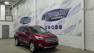 2018 Ford Escape SEL W/ 1.5 EcoBoost, Leather Overview | Boundary Ford