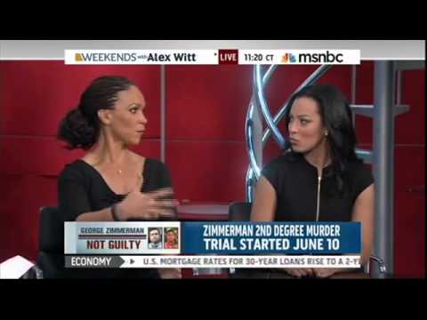 Angela Ryes Talks Zimmerman Verdict w MHP and Thomas Roberts