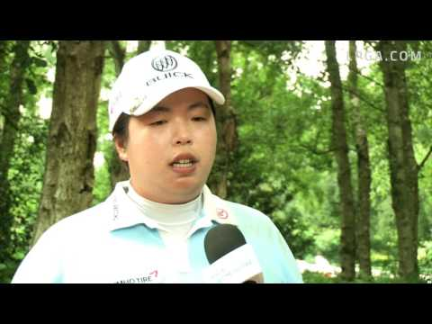 Shanshan Feng RD1 Interview at the 2016 RICOH Women's British Open