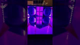 Strobo AJK e fita LED RGB 100% instalados/ Iluminação da Nova caixa #SOM100FRONTEIRAS