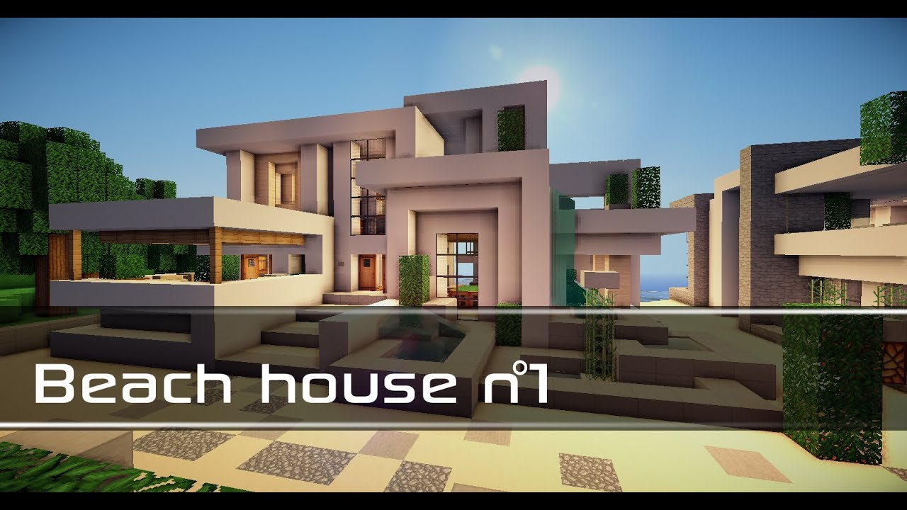 Minecraft beach house n 1 download youtube for Beach house 3 free download