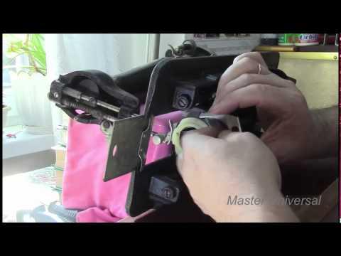 Подольска ручная швейная машина. Профилактика, ремонт.Видео.№1. Часть 1.