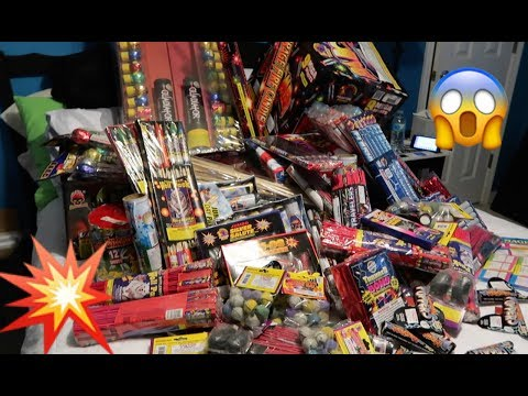 LOTS OF FIREWORKS !! ( OVER $1300 WORTH OF FIREWORKS!!)