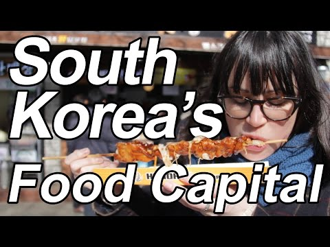 The Best City for Food in South Korea - A Food Day in Jeonju
