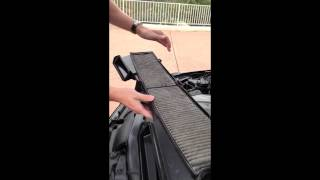 BMW E90 Microfilter Replacement and Service Light Reset (E91,E92,E93)(A quick video showing how to replace the micro-filter within the BMW E90/91/92/93 along with reseting the service light. Tools Required: 8mm socket and driver., 2012-12-26T05:20:44.000Z)