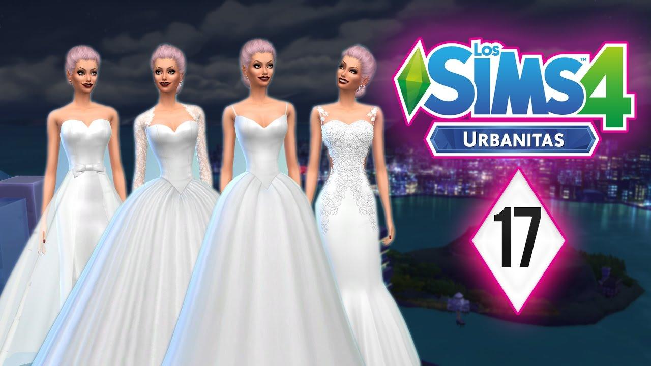 Vestidos de novia los sims 4