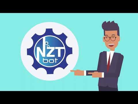 Презентация NZT - системы автоматизации в телеграм, с помощью бота   Промо NZT