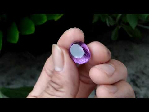 Natural Top Quality Amethyst Nte 99% clean 19.2ct