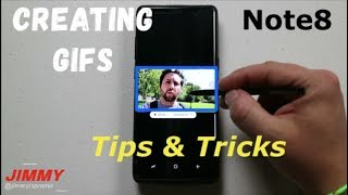 Making GIFs On Your Galaxy Note 8 (Tips & Tricks)