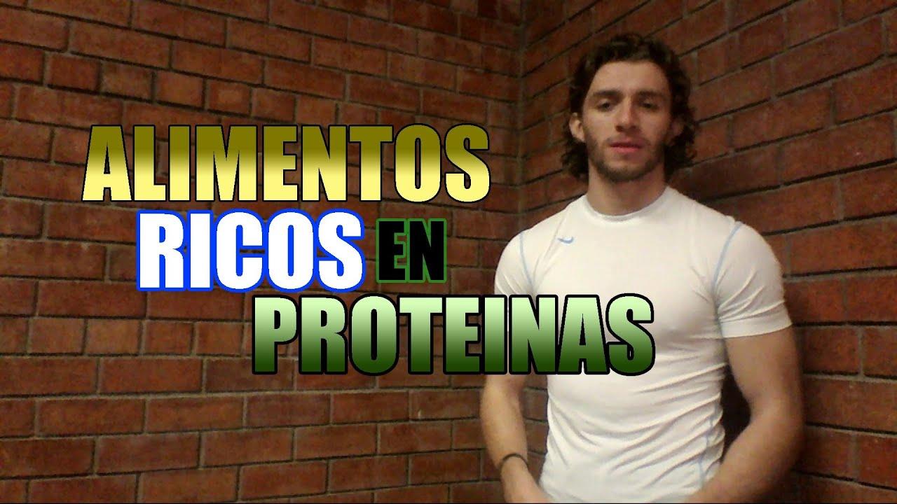 Alimentos ricos en proteinas youtube - Alimentos vegetales ricos en proteinas ...