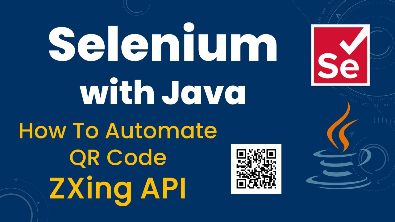 How to automate QRCode using ZXing API in Selenium ~ SDET