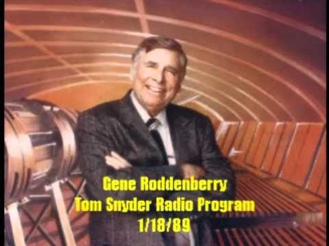 Gene Roddenberry on Tom Snyder 1/18/89 Part 1