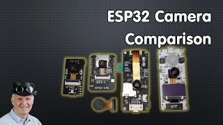 ESP32 Cameras: Comparison and Test (OV2640) and I2S MEMS microphone test