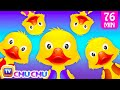 Five Little Ducks And Many More Numbers Songs | Number Nursery Rhymes Collection By Chuchu Tv video