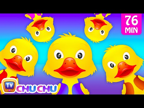 Thumbnail: Five Little Ducks and Many More Numbers Songs | Number Nursery Rhymes Collection by ChuChu TV