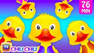 Repeat youtube video Five Little Ducks and Many More Numbers Songs | Number Nursery Rhymes Collection by ChuChu TV