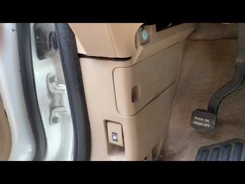 honda odyssey fuse box location (2005-2010)