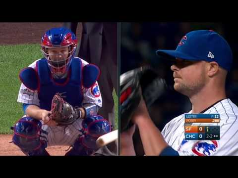 MLB NLDS 2016 San Francisco Giants at Chicago Cubs Game 1