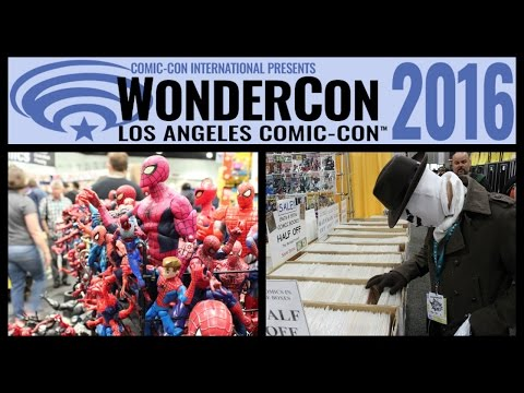 WonderCon 2016 Walkthrough Tour - Comic Book and Entertainment Convention - Los Angeles