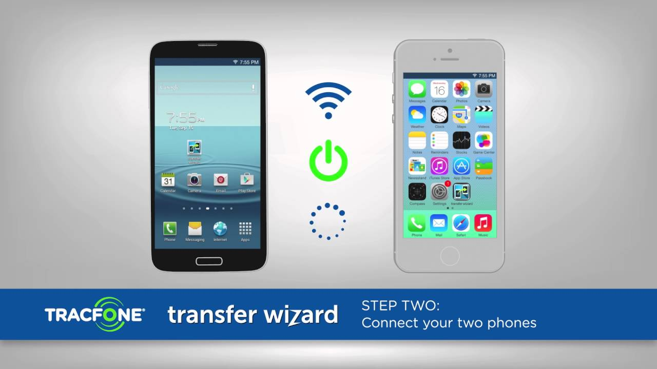 Transfer Wizard | No Contract Plans | TracFone Wireless