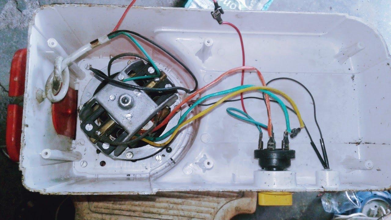 Mixer Motor Wiring Diagram