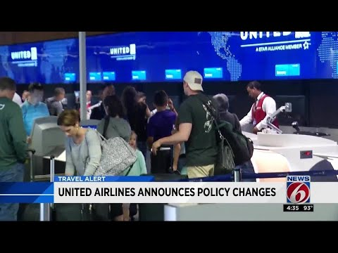 United Airlines announces 10 major policy changes from YouTube · Duration:  33 seconds