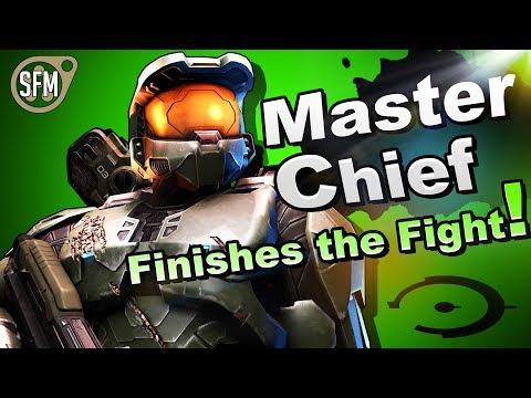 (SFM) Super Smash Bros: Ultimate - Master Chief Reveal [4K]