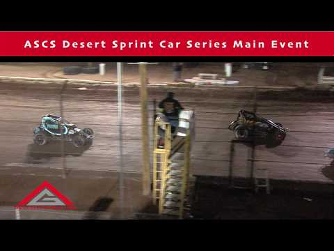 Gestalt Production Presents the ASCS Desert Sprint Car Main from Night 1 of the 2019 Copper Classic at Arizona Speedway! - dirt track racing video image