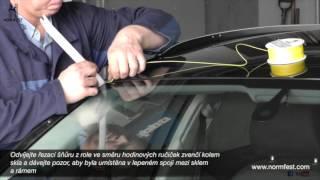 Normfest Screenout Easy - systém na vysklívání autoskel