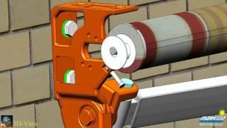 видео Изготовление и монтаж защитных навесов