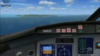 FSX-Caribbean Landing