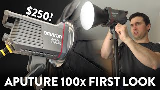Aputure Amaran 100x First Look and Unboxing | a FANTASTIC Bicolor LED Light for $250
